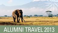 Alumni Travel 2013