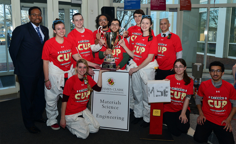 Materials Science & Engineering Wins 2016 Alumni Cup!