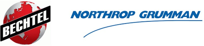 Logos for Bechtel and Northrop Grumman