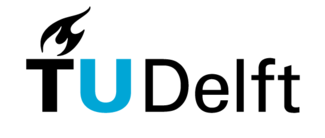 Delft University of Technology university logo.