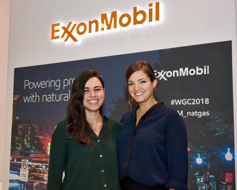 Rosemary Garcia ExxonMobil intern