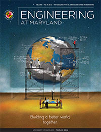 Engineering at Maryland Fall 2018 magazine cover