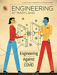 Fall 2020 Engineering at Maryland Magazine cover