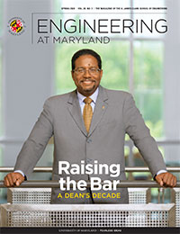 Spring 2020 Engineering at Maryland Magazine cover