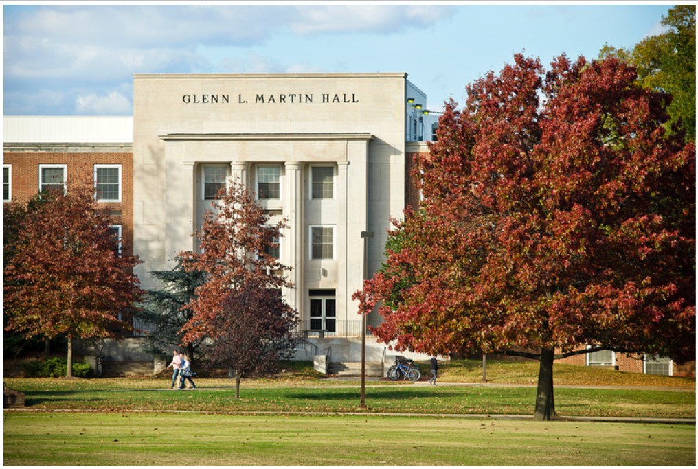 GL Martin Hall Fall foliage
