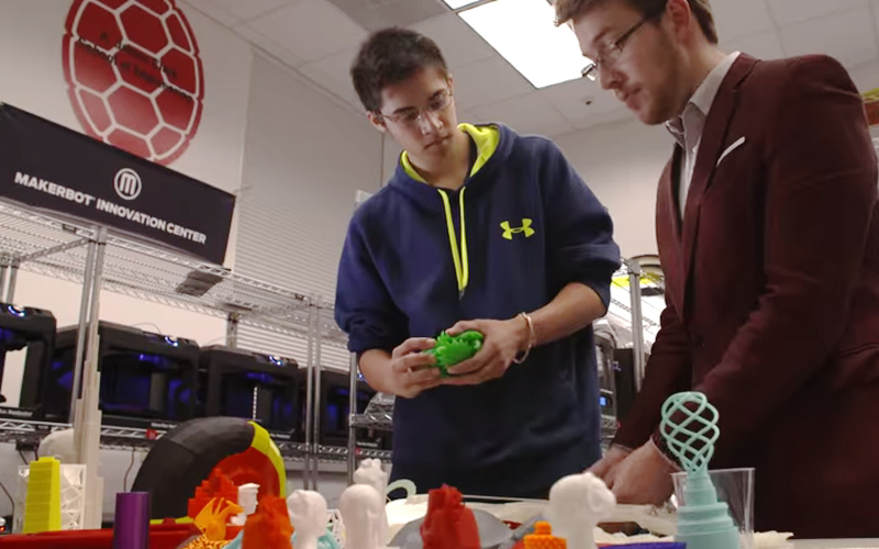 UMD MakerBot Innovation Center Fostering Entrepreneurship