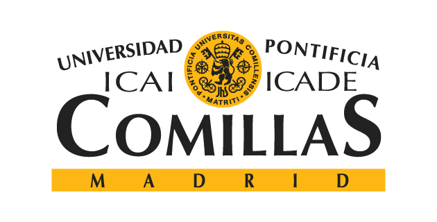 Universidad Pontificia Comillas university logo.